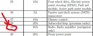 Спасибо за совет.  Аудиосистема заработала. :fhj. за схему расположения предохранителей.